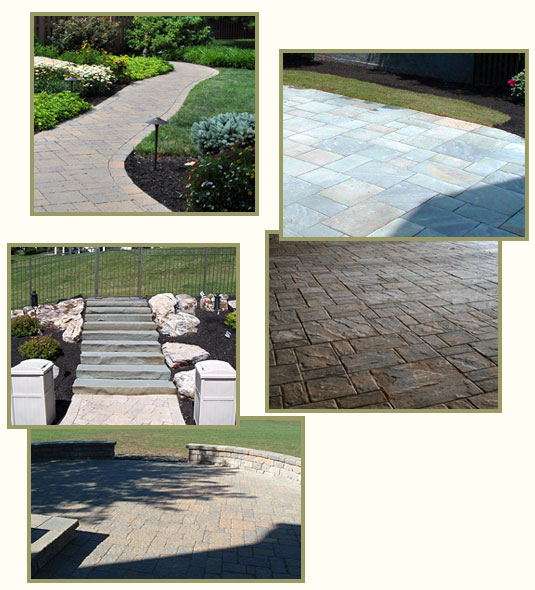 Hardscapes - Walkways - Patios and Terraces, Retaining Walls
