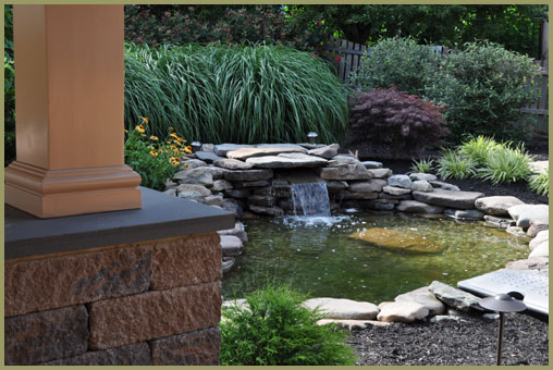Residential Landscaping Services -  Water Features